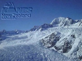The top of the Fox Glacier